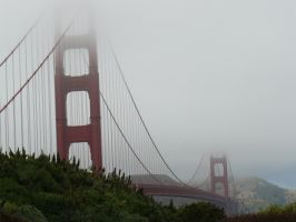 Golden Gate Bridge by TurquoiseMoon