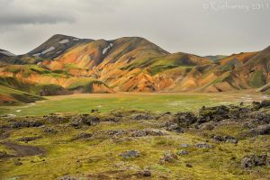 Landmannalaugar by Dark-Raptor