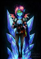 Art Trade - The Nethersona by Lurking-Leanne