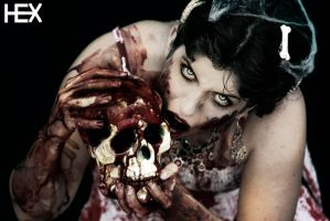 Zombie Princess by HexPhotography
