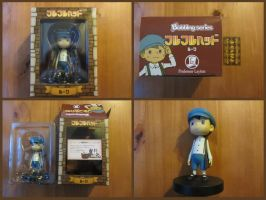 Professor Layton Luke Bobble Head by BenjaminHunter