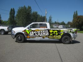 Howies Marine Truck Wrap by ArtisticAxis