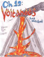 Volcanoes Lab Notebook Cover by FerreTrip