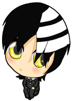 Death the Kid chibi by koolkat2427