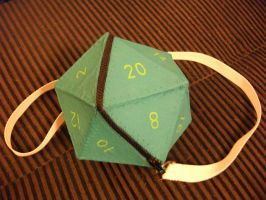 D20 Purse by angermuffin