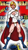 1st Classic Power Girl by RWhitney75
