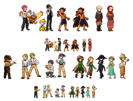 6XL - Trainer Sprites by Jejunity