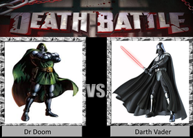 Death Battle Dr Doom Vs Darth Vader by locuaz15143
