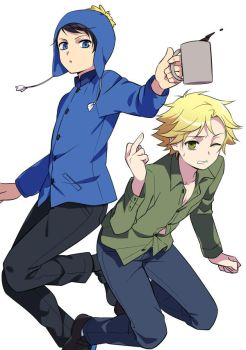 Tweek x Craig by psinok