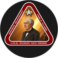 Edison Mission Patch by unusualsuspex