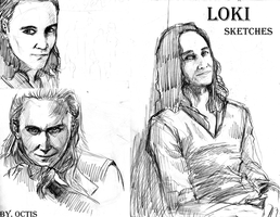 Loki sketches by OCTISquad