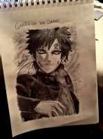 Gaara of the Sand: Power by SilverGoldsun