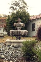 Stock Fountain by phatpuppy