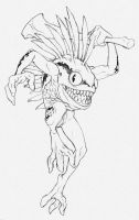Sketch - Murloc by Isra2007