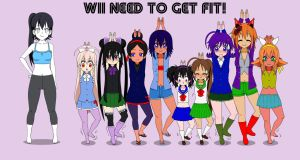 Wii Need To Get Fit by Rokku-D
