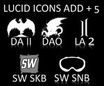 Lucid icons add + 5 games icon by EmotionDevArt