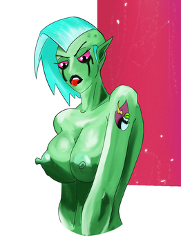 Lord dominator bweebs by Lingerie-Thief