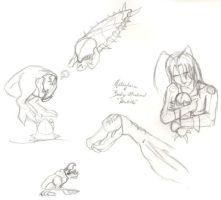 TRemors Fan drawings by Lonely-Invisible