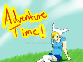 adventure time with fionna by Pooku-chan