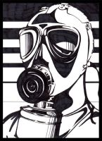 Gas Mask by xtine