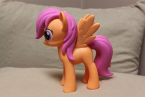Design-A-Pony Scootaloo, left side by DerpyMadness