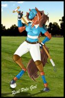 Polo Girl by DrakainaQueen