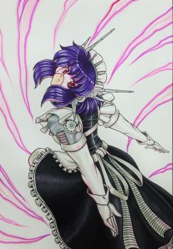 Gift Art: The Iron Butterfly- Mecha Maid by N8Dogg5k