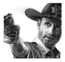 Rick Grimes by girlinterruptedbyart