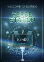 Verde Station - Official Poster by yolkia