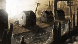 Ghost Town by Chris-Law