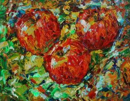 3 apples by andr3d