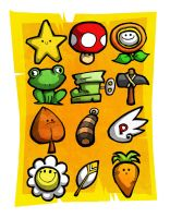 Super Power-Up Bros by Hanogan