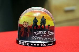 Fallout Snowglobe - Thank you veterans! by iSeptem