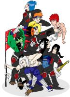 Plethora of Akatsuki by orochimartyr
