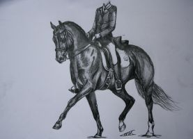 Dressage by Lmk-Arts