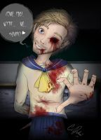 Pewdiepie - Corpse party by MissCake
