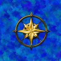Compass Rose by stratomunchkin