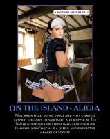 on The Island - Alicia by p-l-richards