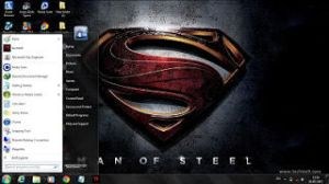 Man of steel 2013 theme[www.techiee9.com] by Techiee9