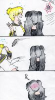 Vocaloid comic strip page 2 by SwimFree