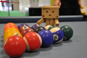 Danbo and Snooker by diaoboyxd