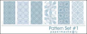 Pattern Set 1 - icon sized by bystrawbrry