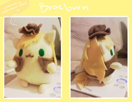 fatty Braeburn plush by Phar0s