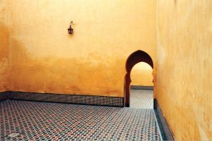 Royal Courtyard, Morocco by vanfoto