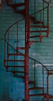 Stairway to Noway by BlueHourPhoto