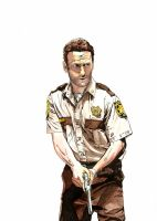 Rick Grimes by manson26