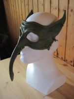 Goblin half mask by akinra-workshop