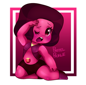 Navy Ruby by PastelPickle