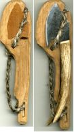 Skining Knife Scabard by Apothacer