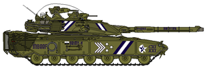 M160A1 in Parade Colors by GreatDetective